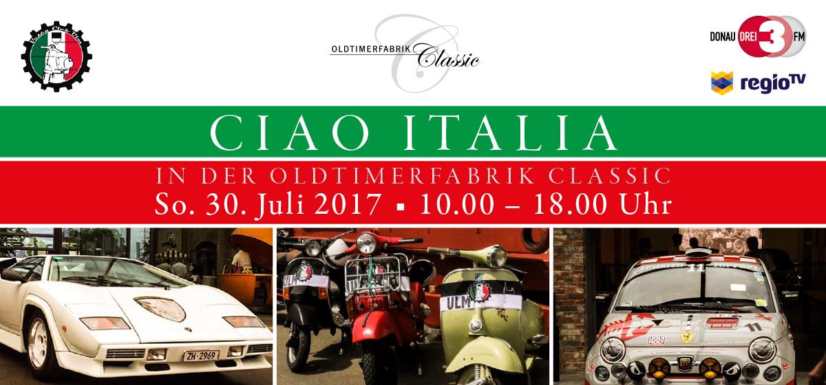 Ciao Italia Flyer 2017 Titel