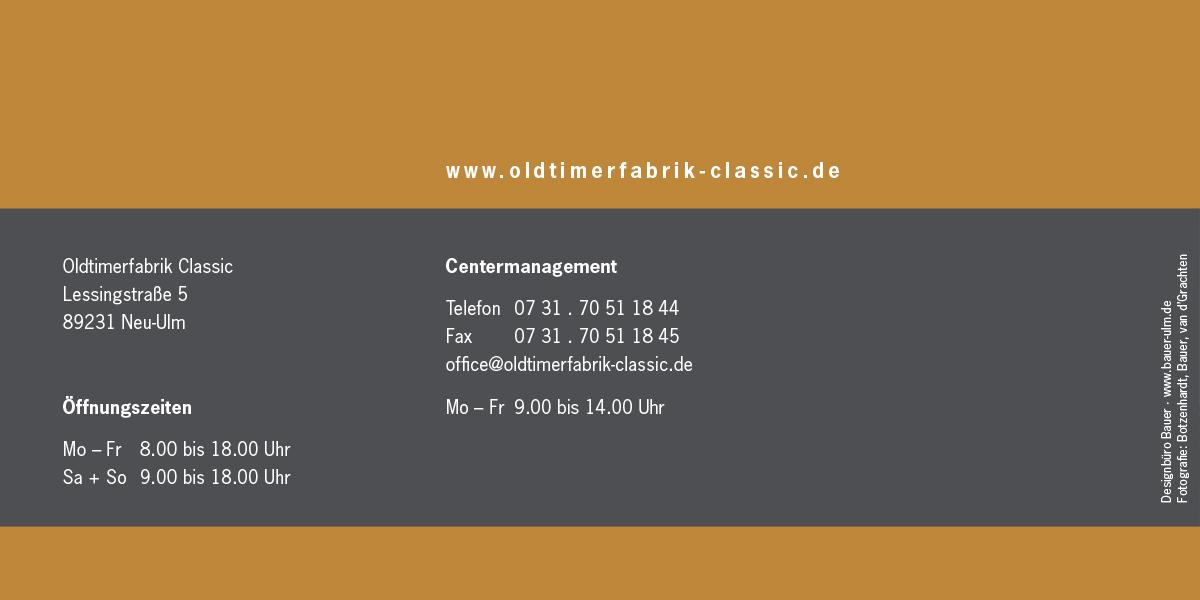 Oldtimerfabrik Classics Flyer S. 16