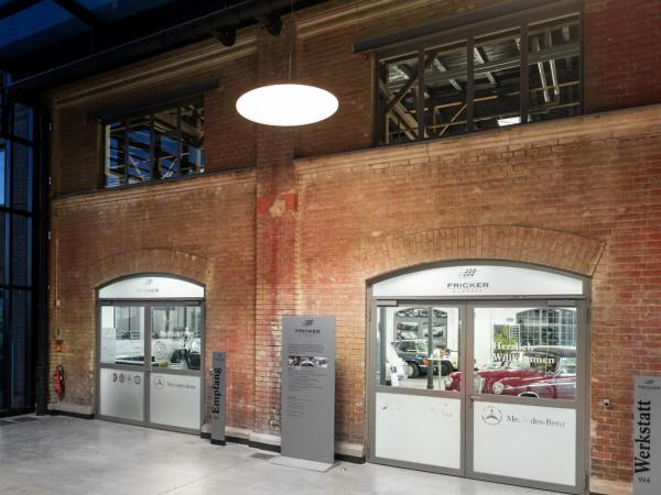 Fricker Classic Werkstatt außen