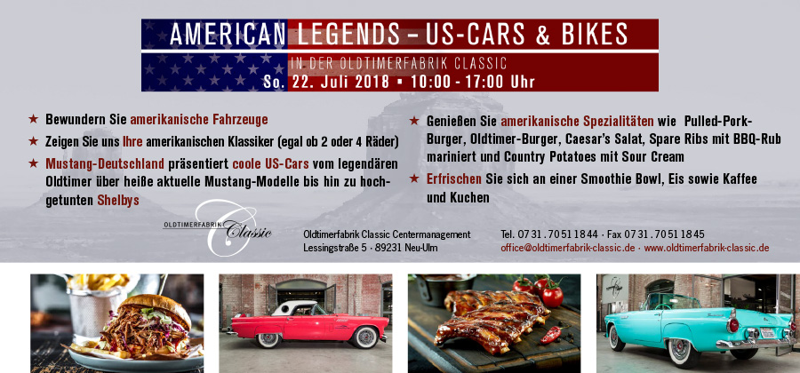 Flyer American Legends Features