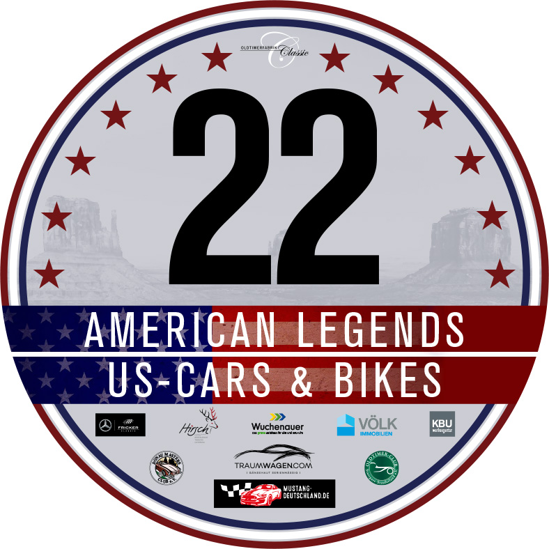 Startnummer American Legends